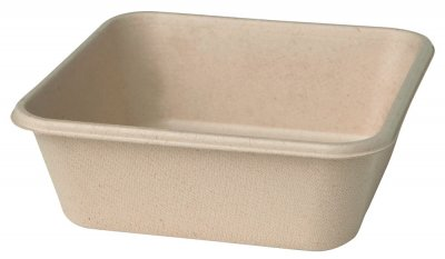Box bagasse brun 900ml